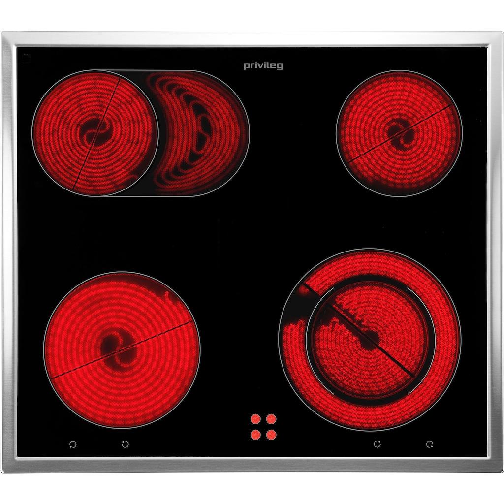 Privileg Family Edition Elektro-Herd-Set »SET PV920 IN«, mit Restwärmeanzeige