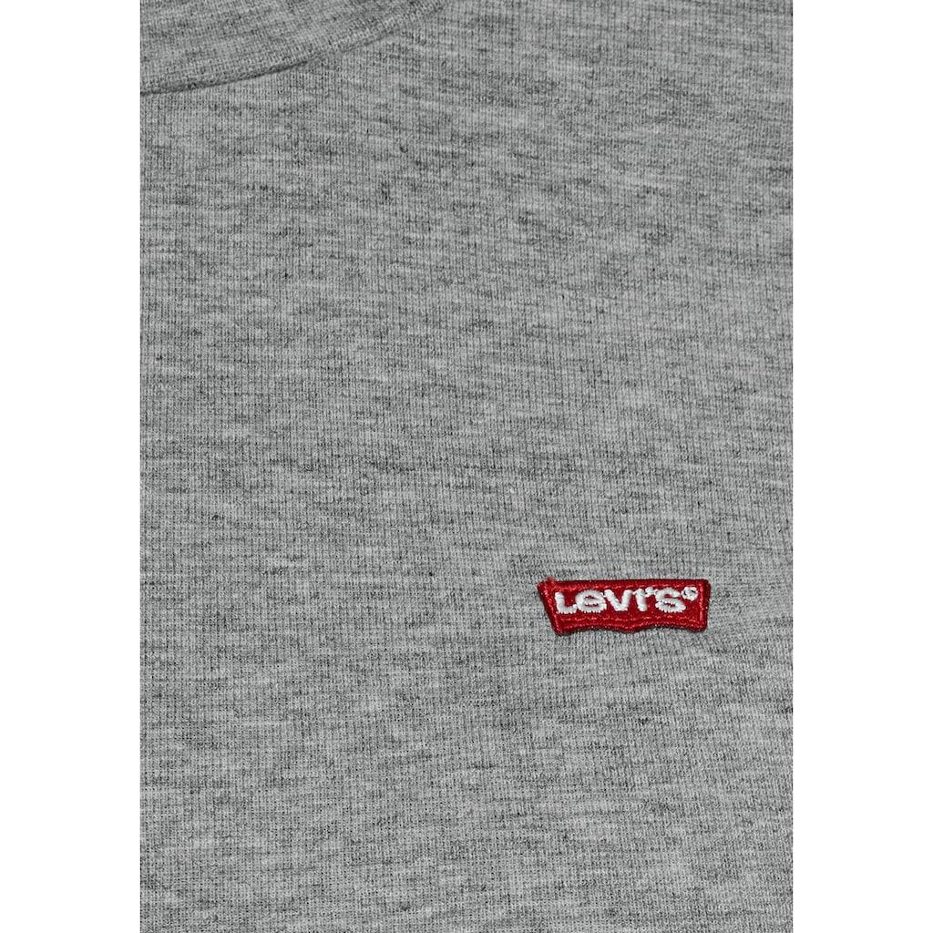 Levi's® Langarmshirt »Baby Tee«, Figurbetontes Langarmshirt