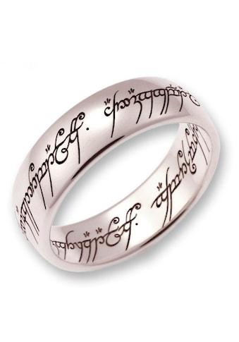 Der Herr der Ringe Goldring »Der Eine Ring  -  Weißgold, 10004083, 10004084, 10004085« kaufen