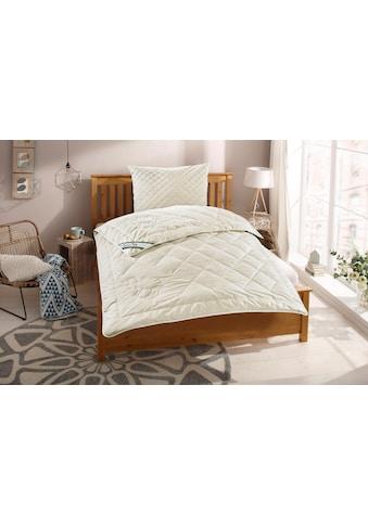 f.a.n. Schlafkomfort Naturhaarbettdecke »Gobi«, leicht, Füllung 97% Kamelhaar - waschbar, 3% sonstige Fasern, Bezug 100% Baumwolle, (1 St.), hohes Wärmerückhaltevermögen, angehmen klimatisierendes und trockenes Schlafklima kaufen