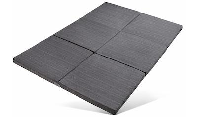 RIBECO Klappmatratze »Elli«, (1 St.), mit Möbelstoff-Bezug, Größe: 140x195 cm kaufen
