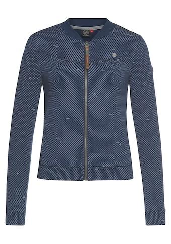 Ragwear Sweatjacke »KENIA DOTS« kaufen