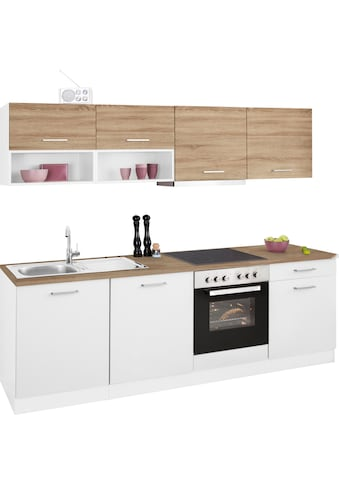HELD MÖBEL Küchenzeile »Visby«, mit E-Geräten, Breite 240 cm kaufen