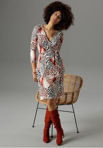 Aniston SELECTED Jerseykleid, mit verschiedenen Animal-Prints- NEUE KOLLEKTION kaufen