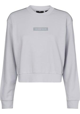 Calvin Klein Performance Sweatshirt »PW - Pullover«, mit reflektierenden Kontrastdetails kaufen