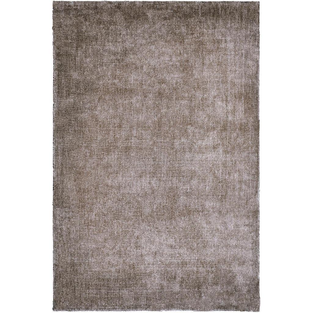 Obsession Teppich »My Breeze of Obsession 150«, rechteckig, 19 mm Höhe, Uni-Farben, Wohnzimmer