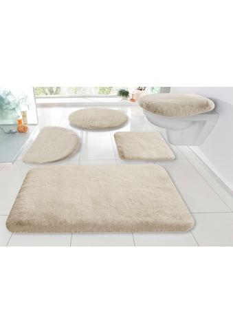 my home Badematte »Rabbit«, Höhe 30 mm, strapazierfähig, Kaninchenfell-Haptik kaufen