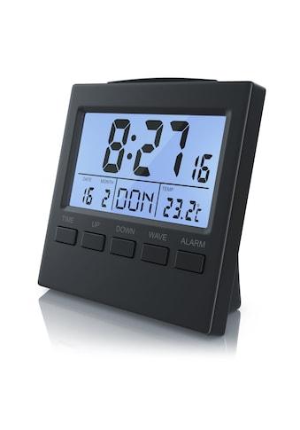 BEARWARE Digital-Funkwecker mit Innen-Temperaturanzeige kaufen
