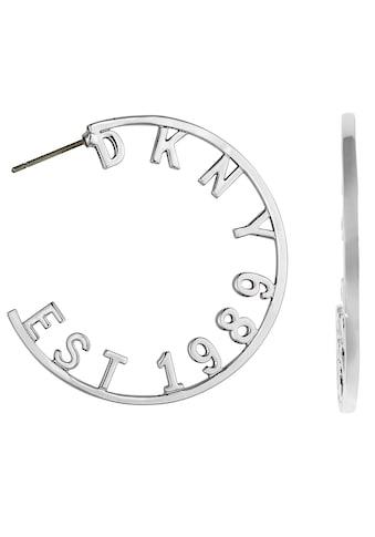 DKNY Paar Creolen »DKNY 1989 Round Hoop ER (RH), 5547959« kaufen