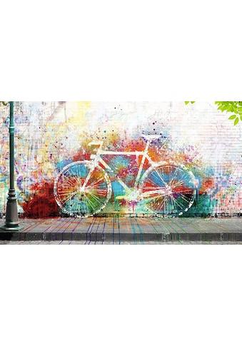 Home affaire Deco - Panel »Wo ist das Fahrrad?« kaufen