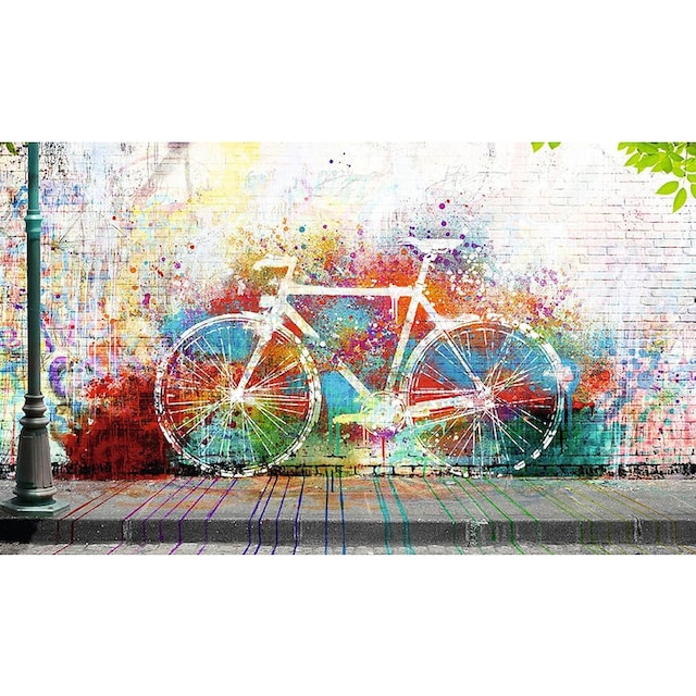 Home affaire Deco-Panel »Wo ist das Fahrrad?«