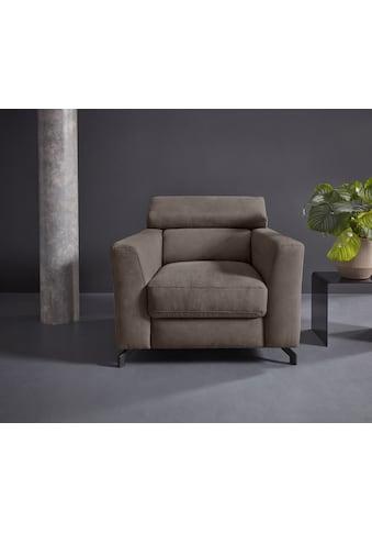 Places of Style Sessel »Casagrande Luxus«, incl. Kopfteilverstellung, belastbar bis... kaufen
