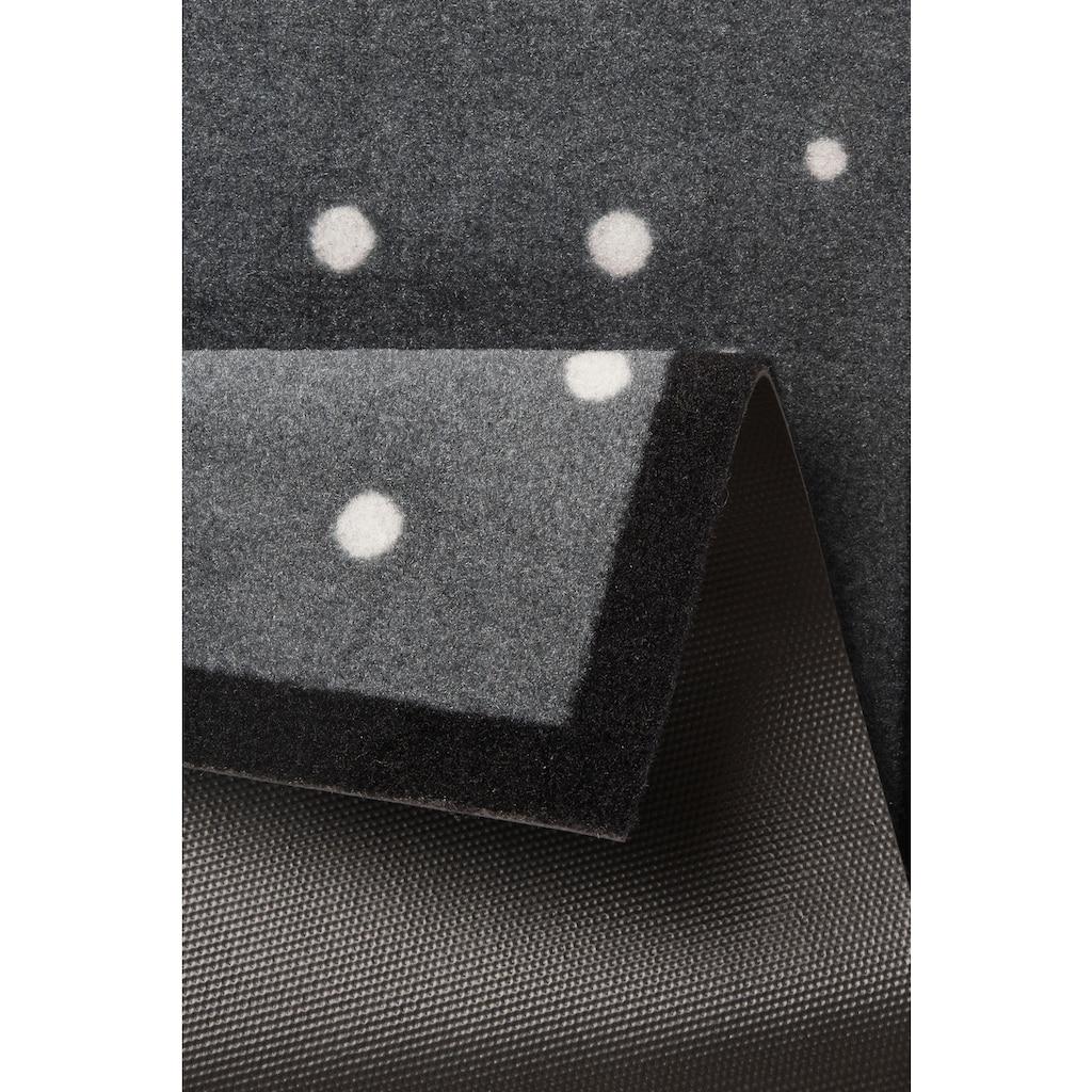 HANSE Home Fußmatte »3 Zwerge«, rechteckig, 7 mm Höhe, Fussabstreifer, Fussabtreter, Schmutzfangläufer, Schmutzfangmatte, Schmutzfangteppich, Schmutzmatte, Türmatte, Türvorleger, In- und Outdoor geeignet