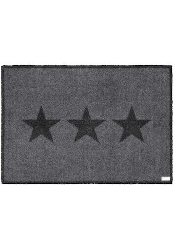 Zala Living Fußmatte »Sterne«, rechteckig, 7 mm Höhe, Schmutzfangmatte kaufen
