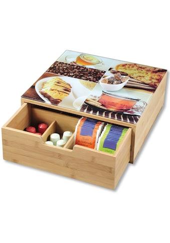 KESPER for kitchen & home Aufbewahrungsbox, 8 Fächer kaufen