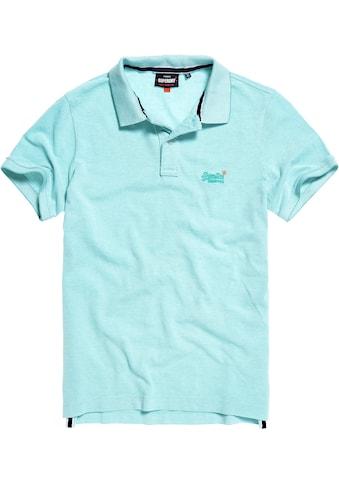 Superdry Poloshirt »CLASSIC PIQUE POLO« kaufen