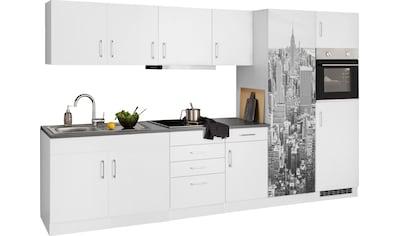 HELD MÖBEL Küchenzeile »Paris«, mit E-Geräten, Breite 330 cm, wahlweise mit... kaufen