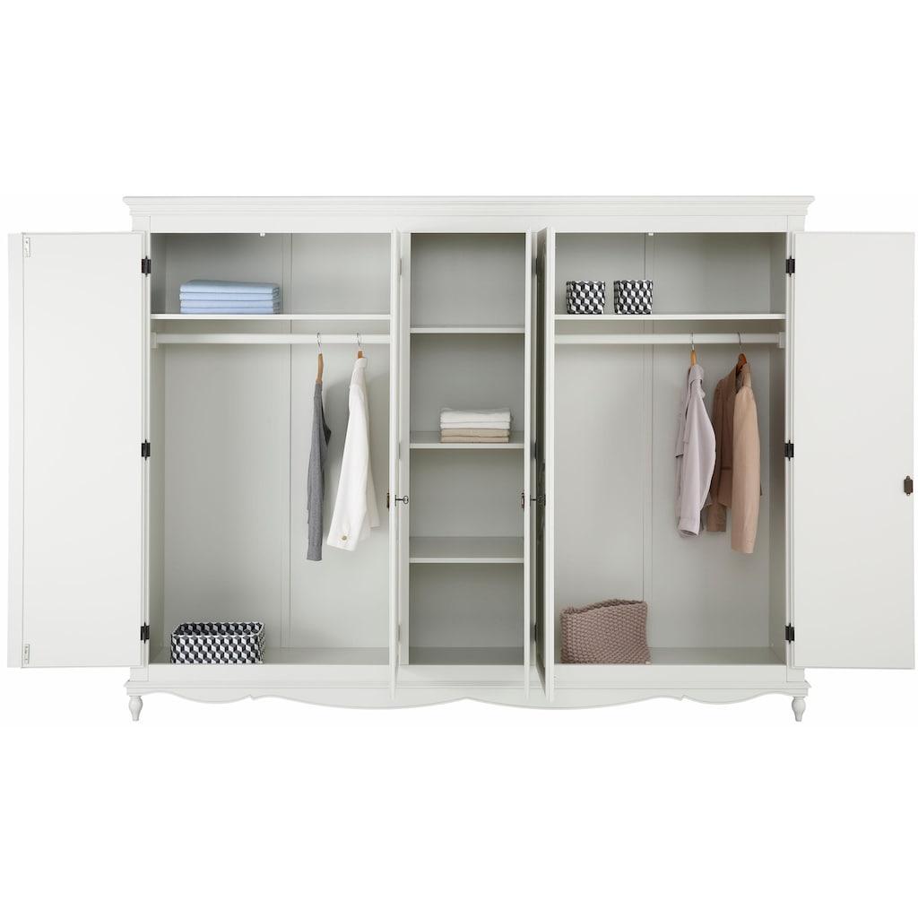 Premium collection by Home affaire Kleiderschrank »Katarina«, in 3 verschiedenen Breiten und zwei Farbvarianten erhältlich
