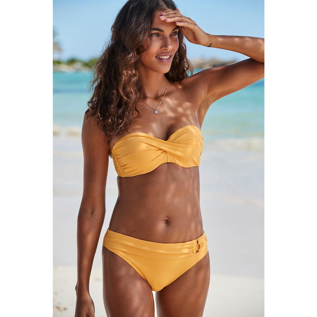 s.Oliver Bügel-Bandeau-Bikini-Top »Rome«, in Wickeloptik
