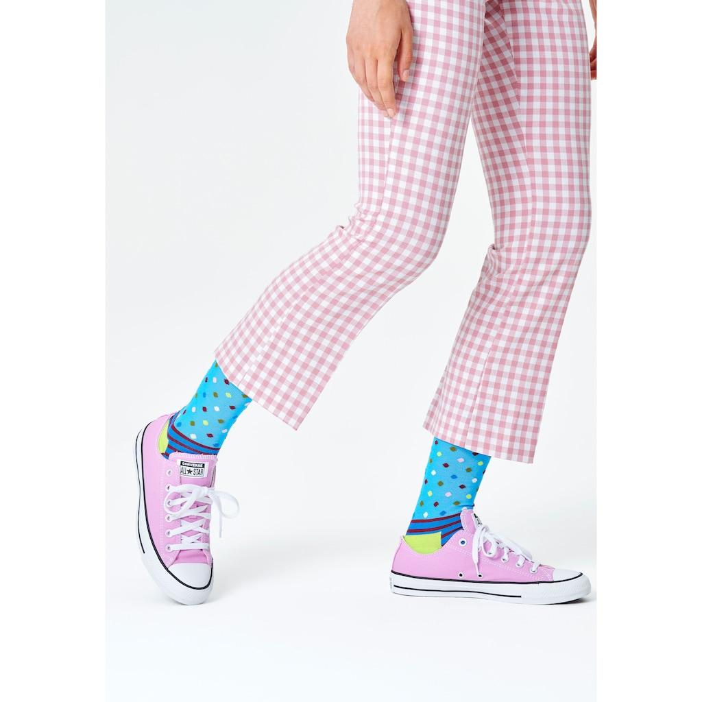 Happy Socks Socken, (Box, 4 Paar), mit klassischen Mustern in Geschenkbox
