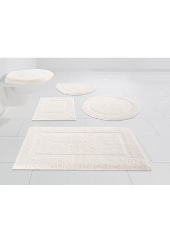 andas Badematte »Luana«, Höhe 13 mm, schnell trocknend, Hoch-Tief-Effekt kaufen