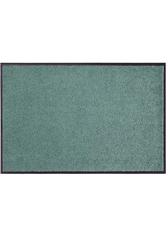 my home Fußmatte »Clean & Walk«, rechteckig, 7 mm Höhe, Fußabstreifer, Fußabtreter, Schmutzfangläufer, Schmutzfangmatte, Schmutzfangteppich, Schmutzmatte, Türmatte, Türvorleger, In- und Outdoor geeignet, waschbar kaufen