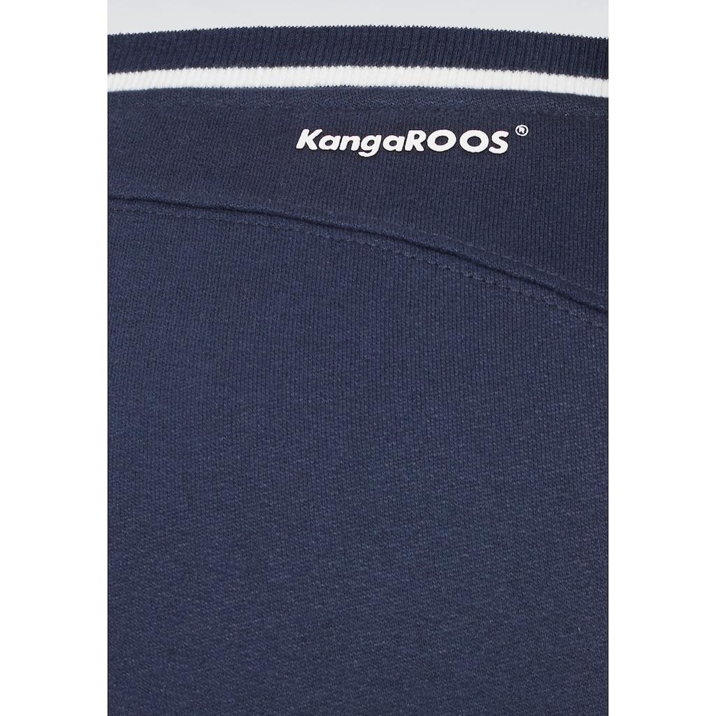 KangaROOS Jogginghose, mit lässigem Beinaufschlag