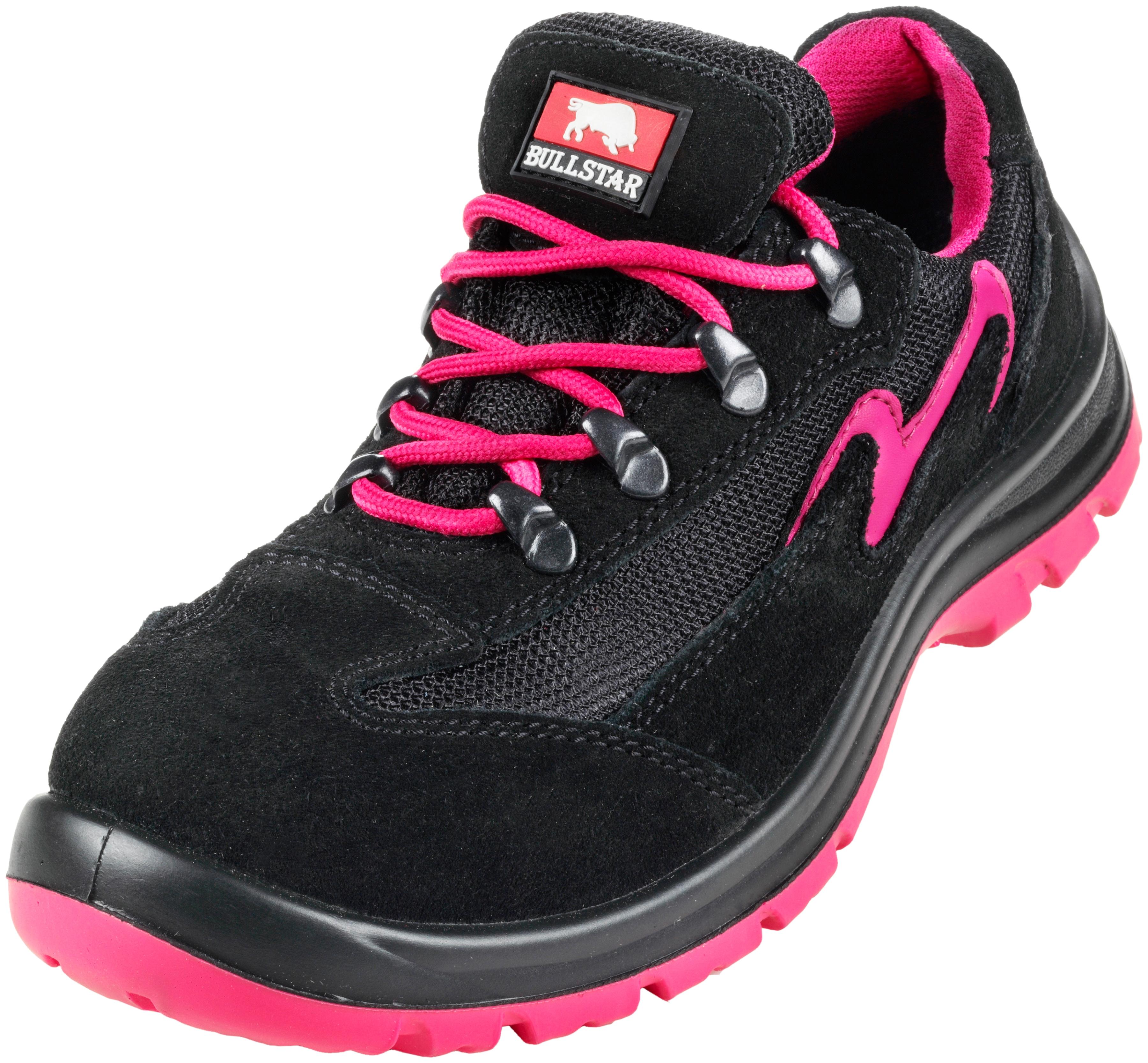 BULLSTAR Damen-Sicherheitsschuh | Schuhe > Sicherheitsschuhe | Schwarz | Pu | BULLSTAR