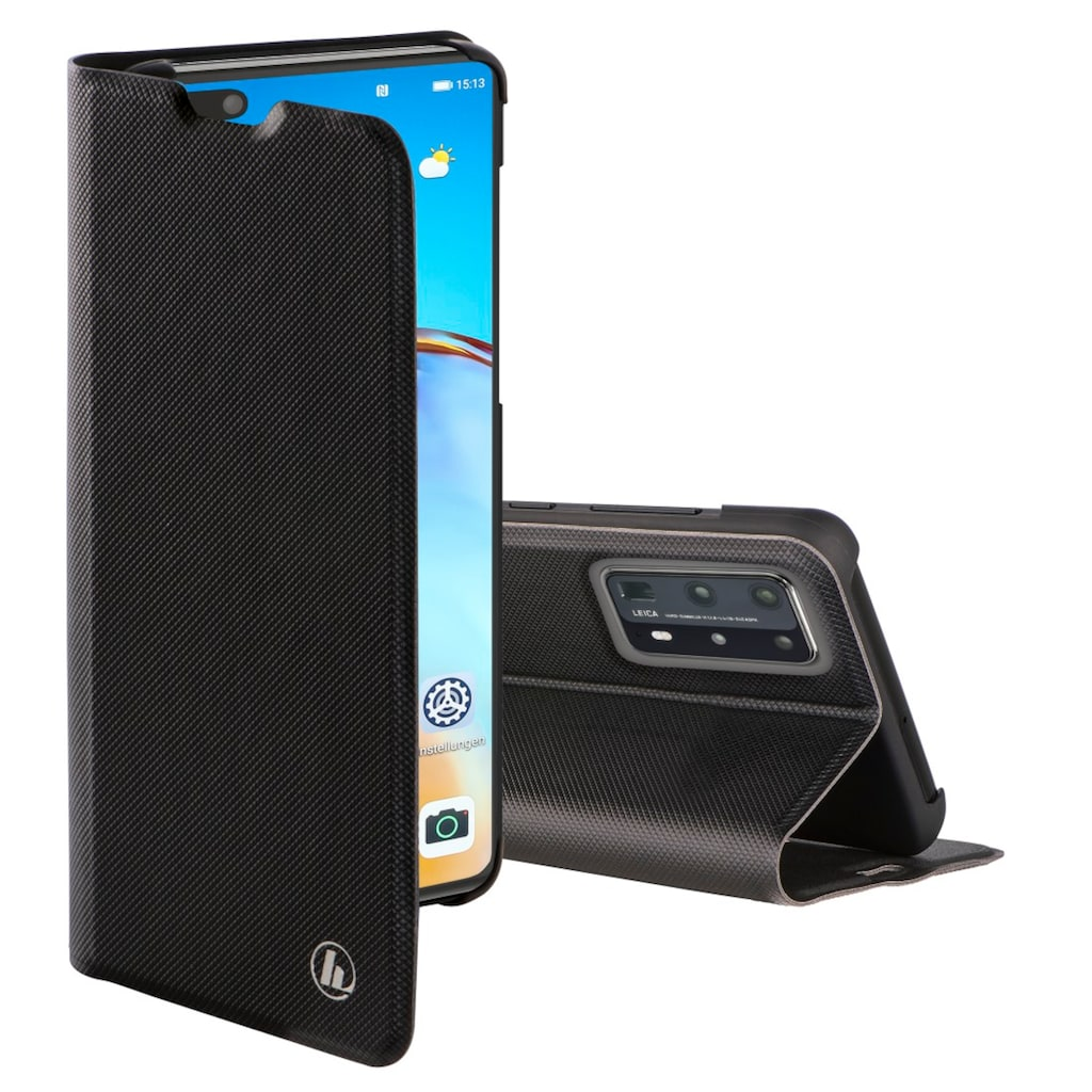 Hama Handytasche »Tasche Slim Pro, Schwarz«, für Huawei P40 Pro