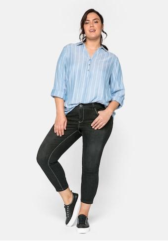 Sheego Stretch-Jeans, in ultraflexibler Qualität kaufen