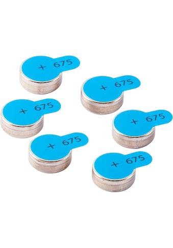 Intenso »Zink - Luft A675« Batterie (6 Stück) kaufen