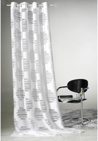 Weckbrodt Vorhang »Valea«, HxB: 245x140, Ausbrenner, Metallösen kaufen