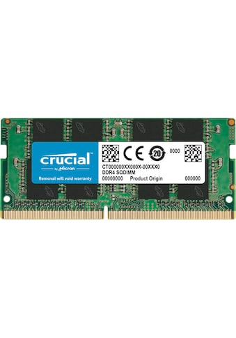 Crucial »Crucial 4GB DDR4 - 2400 SODIMM« Arbeitsspeicher kaufen