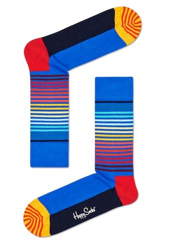 Happy Socks Socken »Half Stripe«, (1 Paar), in knalligen Farben kaufen