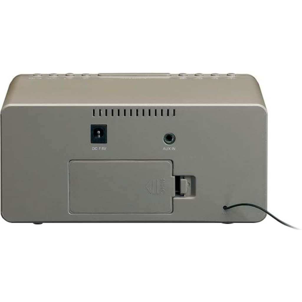 Lenco Uhrenradio »CR-530«, (FM-Tuner)