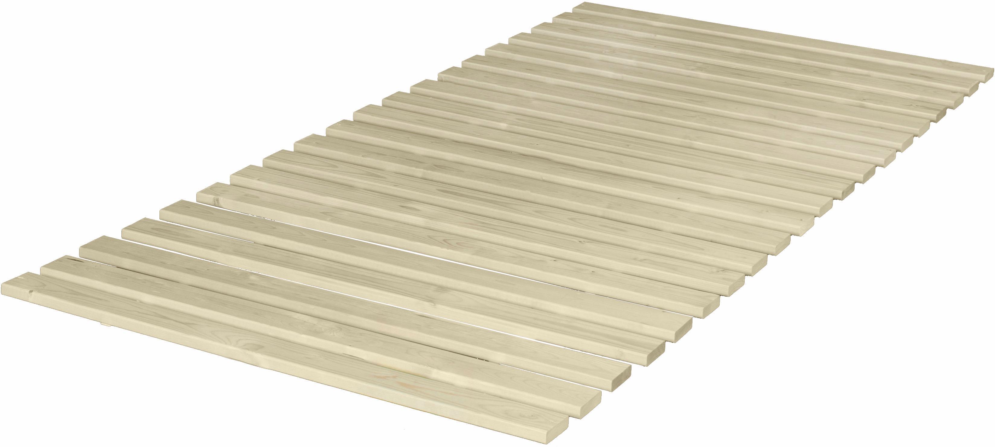 Rollrost, »Fichte«, Breckle, 20 Leisten, Kopfteil nicht verstellbar | Schlafzimmer > Lattenroste > Rollroste | Mehrfarbig | BRECKLE