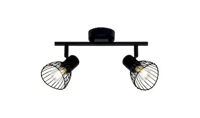 Brilliant Leuchten Elhi Spotrohr 2flg schwarz kaufen