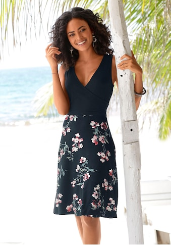 Beachtime Strandkleid, mit bedrucktem Rockteil kaufen