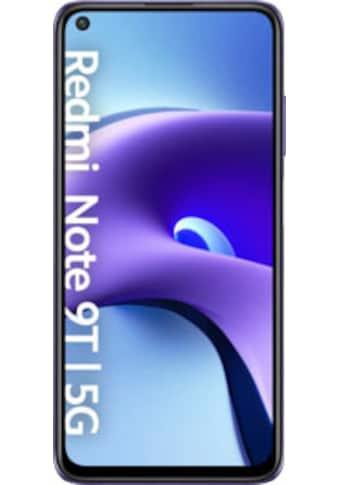 """Xiaomi Smartphone »Redmi Note 9T«, (1,59 cm/6,53 """", 64 GB Speicherplatz, 48 MP Kamera) kaufen"""