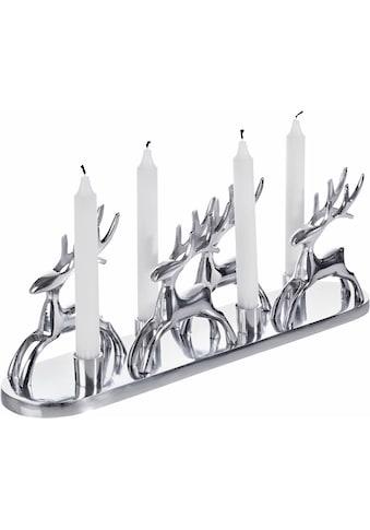Home affaire Kerzenständer »Rentiere« kaufen