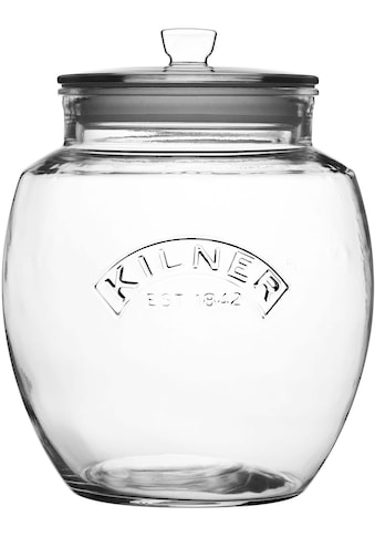 KILNER Vorratsglas, (1 tlg.), mit luftdichtem Deckel, für zu Hause ob in Küche,... kaufen