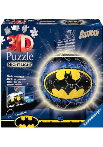 Ravensburger Puzzleball »Nachtlicht Batman«, mit Leuchtmodul inkl. LEDs; Made in Europe, FSC® - schützt Wald - weltweit kaufen