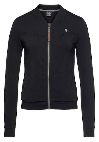 Ragwear Sweatjacke »KENIA«, mit Stehkragen kaufen