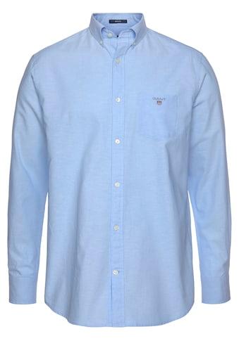 Gant Langarmhemd, mit Leinenanteil kaufen