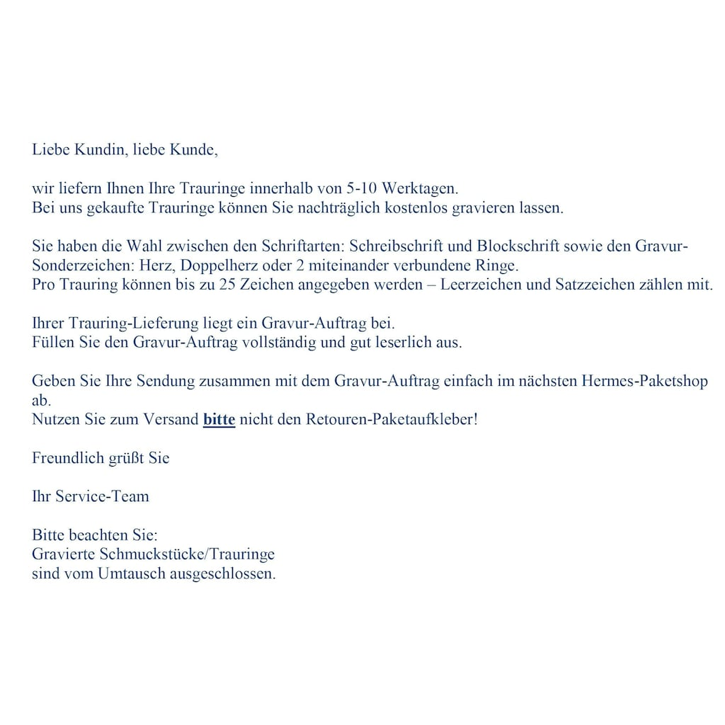 Firetti Trauring mit Gravur »längs gebürstet, Diamantschnitt, 5,0 mm breit«, Made in Germany, wahlweise mit oder ohne Brillanten