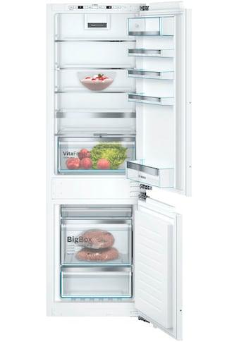 BOSCH Einbaukühlgefrierkombination, KIN86AFF0, 177,2 cm hoch, 55,8 cm breit kaufen