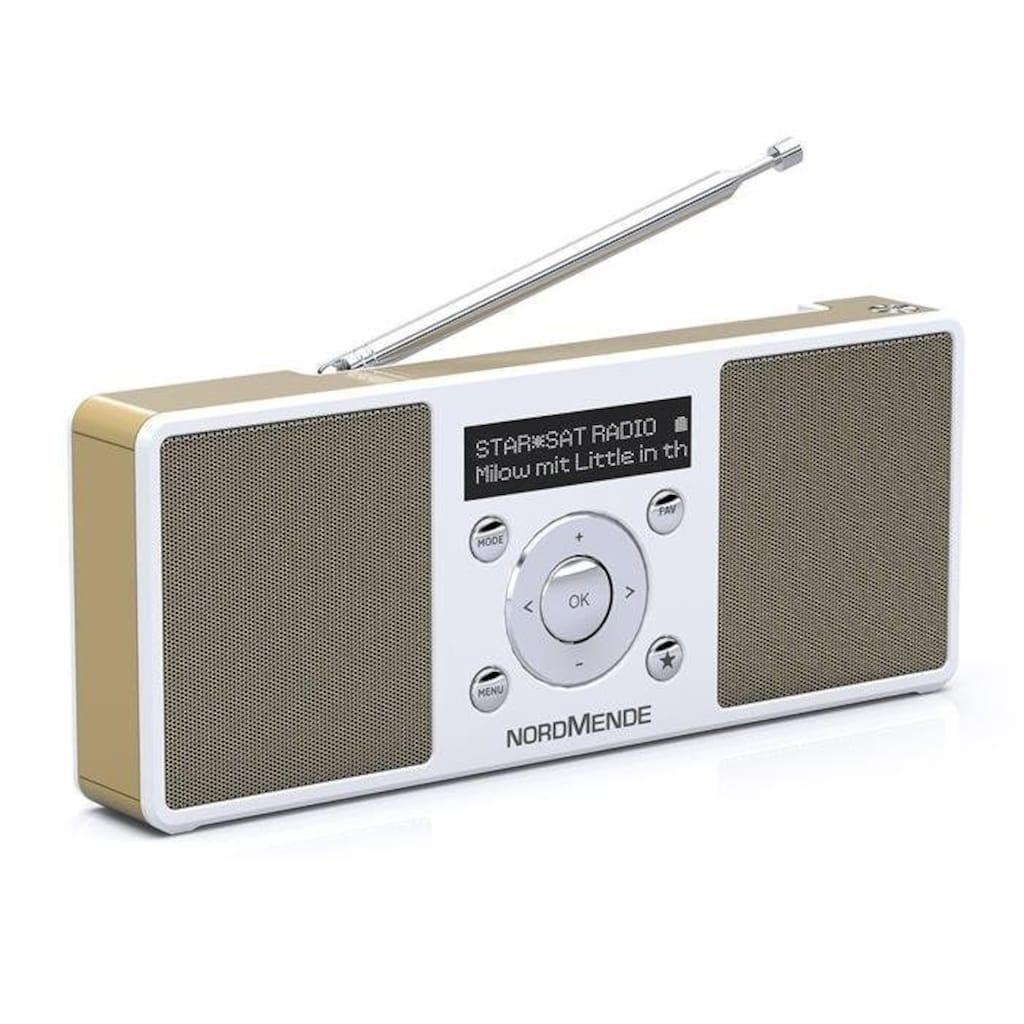 Nordmende Digitalradio (DAB+) »Transita 200«, (Bluetooth Digitalradio (DAB+)