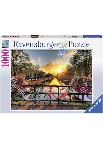 Ravensburger Puzzle »Fahrräder in Amsterdam«, Made in Germany, FSC® - schützt Wald -... kaufen