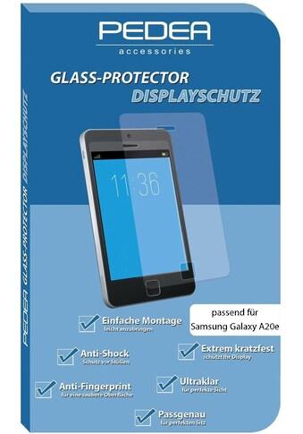 PEDEA Schutzglas »Display - Schutzglas für Samsung Galaxy A20e« kaufen