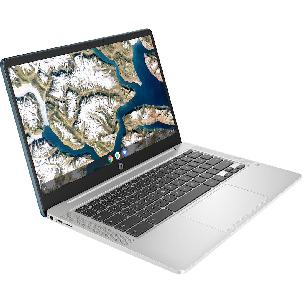 "HP Chromebook »14a-na0245ng«, (35,6 cm/14 "" Intel Pentium Silber UHD Graphics\r\n 128 GB SSD)"
